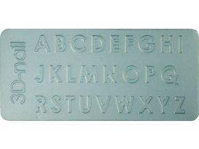 3D Šablona - Capital letter
