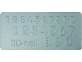 3D Šablona - Number