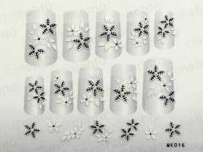 Samolepky na nehty 3D - serie K5