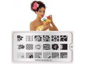 tropical nail art design 08