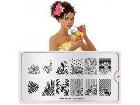 Tropical nail art design 29