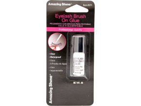 EYELASH BRUSH ON GLUE - lepidlo na řasy, čiré 3g