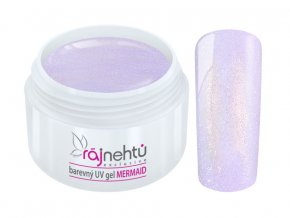 uv gel mermaid light violet svetle fialovy