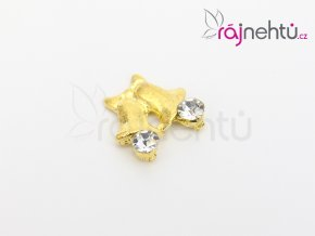 dvojitý zvoneček zlatý