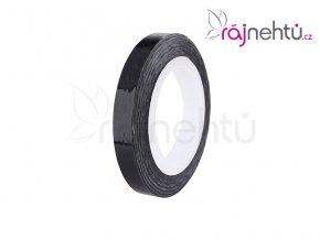 zdobící páska vlnka černá