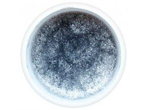 Barevný UV gel GABRA 7,5 ml - kovový stříbrný