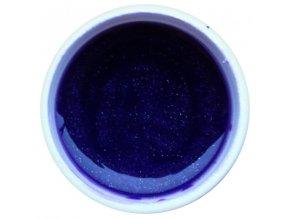 Barevný UV gel GABRA 7,5 ml - kovový fialka