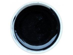 Barevný UV gel GABRA 7,5 ml - kovový černý