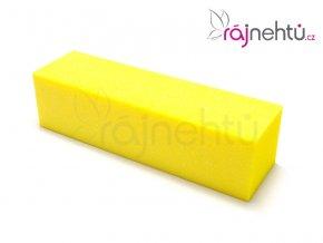 Pilník blok barevný - žlutý