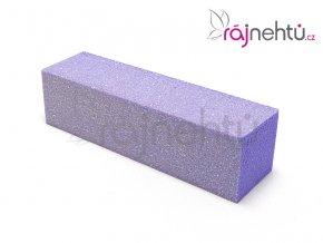 Pilník blok barevný - fialový