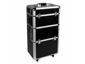 Velký kosmetický kufr - černý