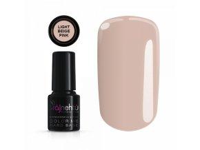 Gel lak Color Me Hard base light beige pink