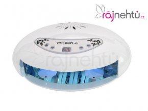 UV lampa na nehty 45W s LCD displejem a sušičkou