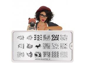 hipster nail art design 21