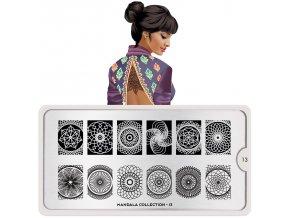 38. Mandala nail art design 13