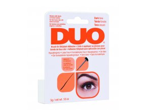 56896 DUO Brush On Adhesive Dark 0.5oz Unit Carton HR