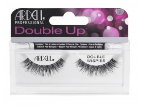 Ardell DoubleUp DoubleWispies Lash Clamshell On HangCard flat HR