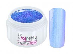 UV gel Flip Flop Light Blue