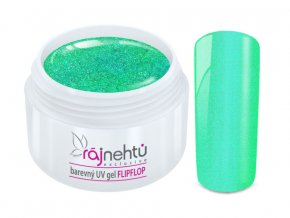 UV gel Flip Flop Green Zelený