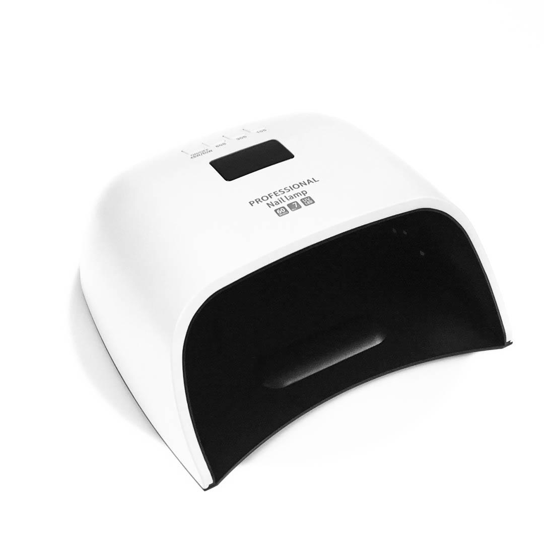 Ráj nehtů UV/LED Lampa Dual N7 PRO 60W - bílá