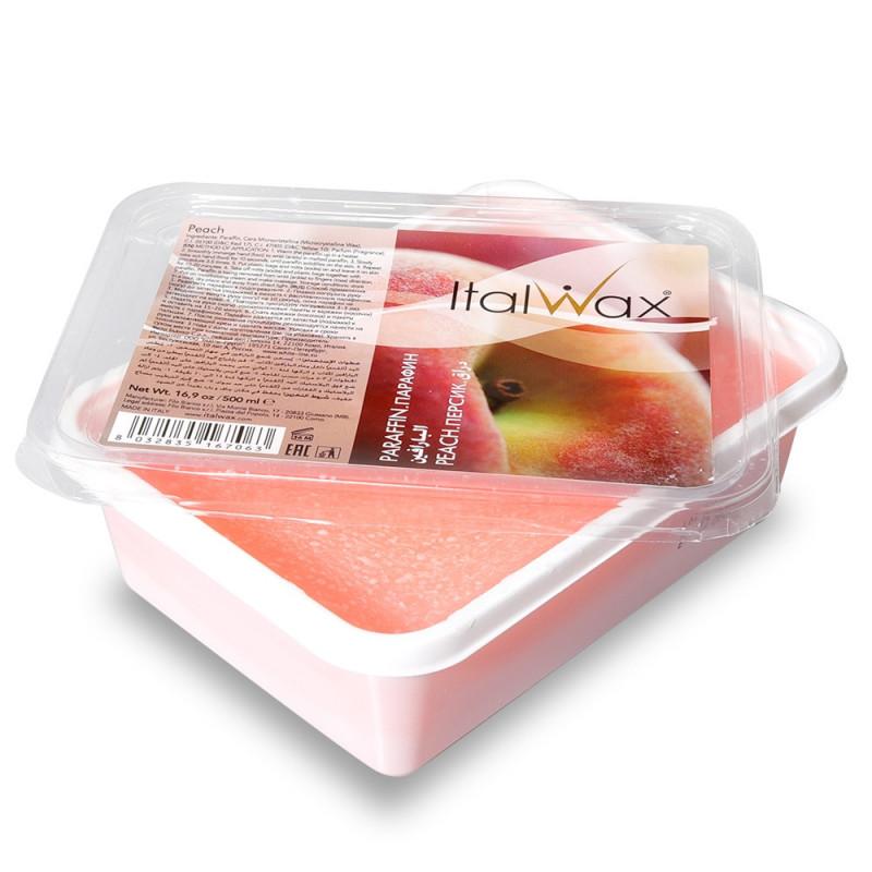ItalWax Parafínový vosk Peach 500 ml
