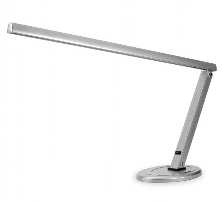 Ráj nehtů Stolní lampa kosmetická - stříbrná