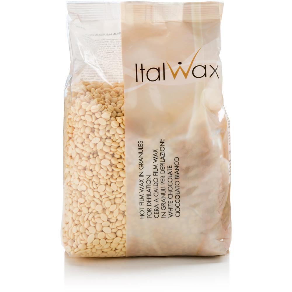 Italwax depilační vosk zrnka White Choco 500 g