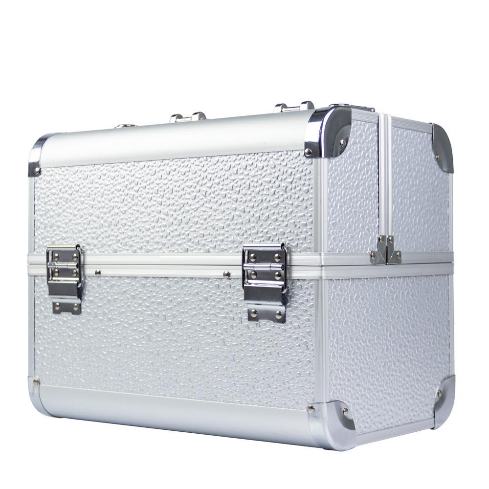 Ráj nehtů Kosmetický kufřík SPLASH stříbrný