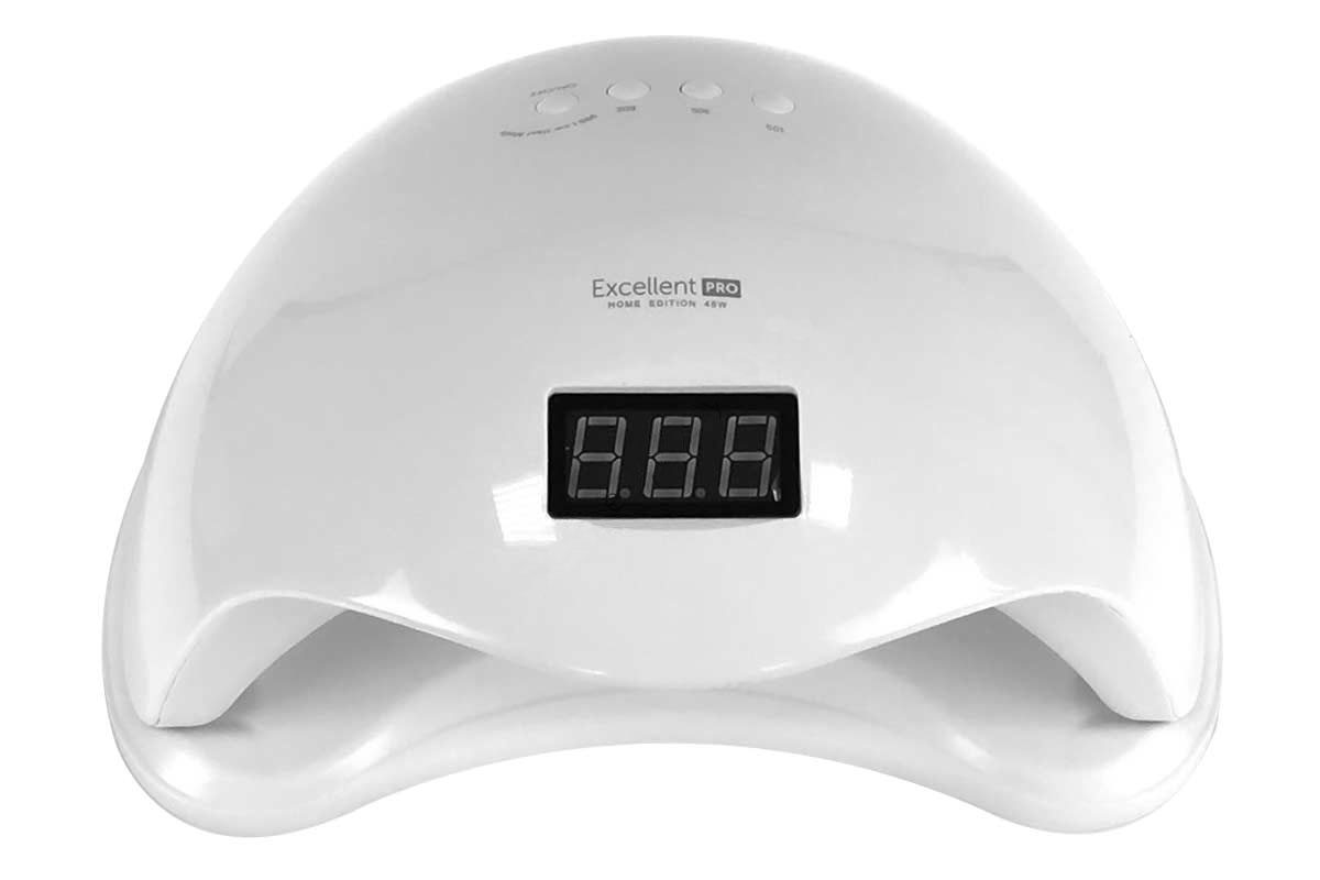 Ráj nehtů UV/LED LAMPA Excellent Pro 48W Home bílá