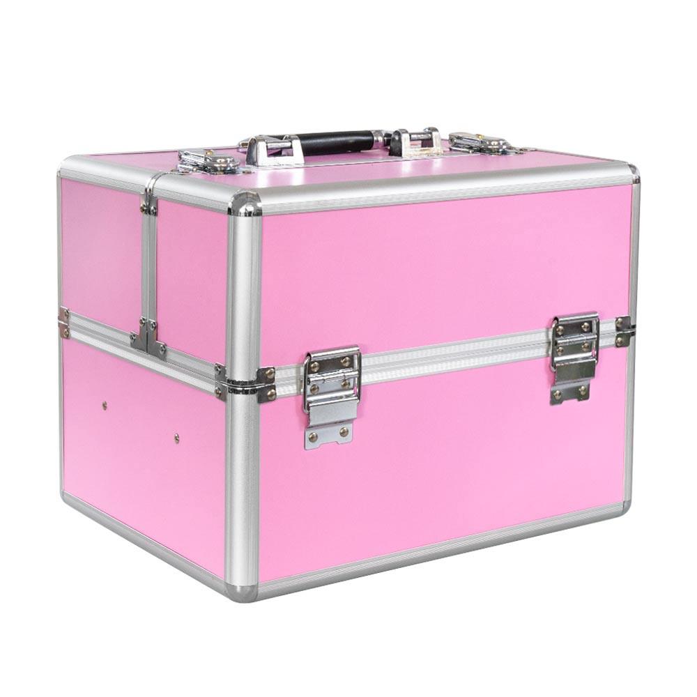 Ráj nehtů Kosmetický kufřík SENSE - růžový