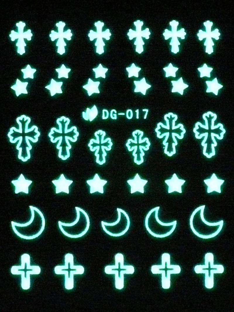 Vodolepky svítící ve tmě - Gothic