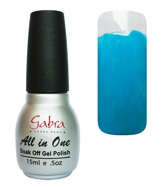 CEDRO sole GABRA UV Step lak 3v1 - Modrá aqua