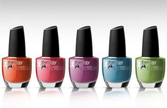 Ráj nehtů Fantasy line Fantasy Nails - Lak na nehty Aquarelle set 5x15ml