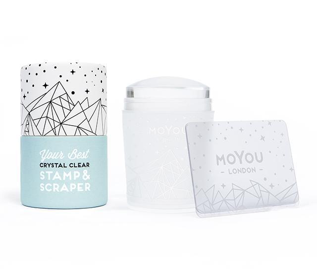 MoYou Razítko na nehty XL - Crystal Clear