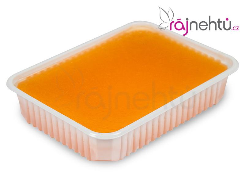 Ráj nehtů Parafínový vosk 400g vanička - pomeranč