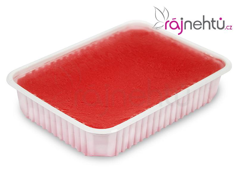 Ráj nehtů Parafínový vosk 400g vanička - jahoda