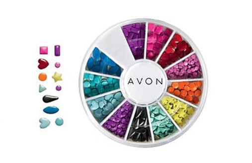 Avon Kamínky na zdobení nehtů Neon