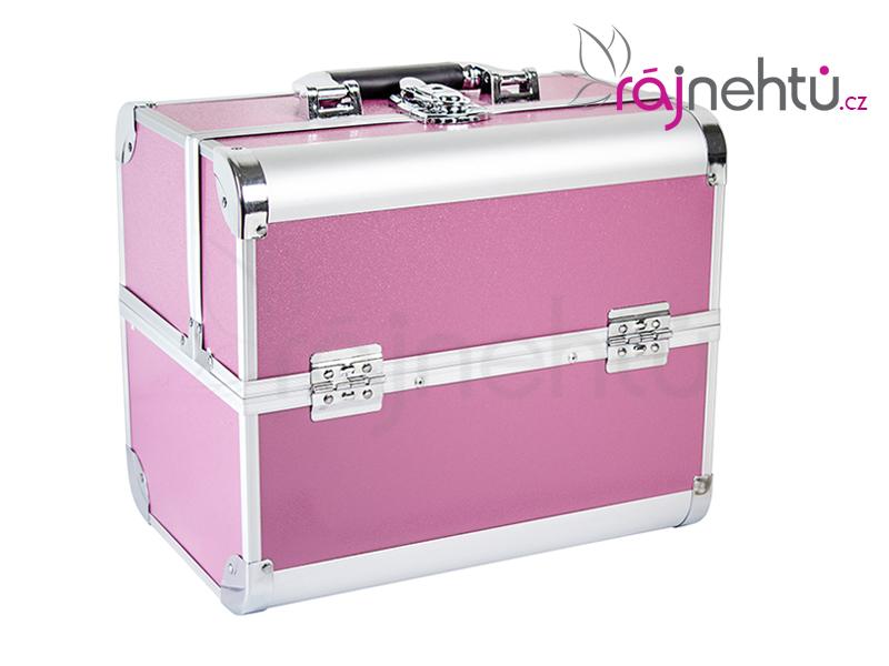 Ráj nehtů Kosmetický kufřík - růžový DELIGHT
