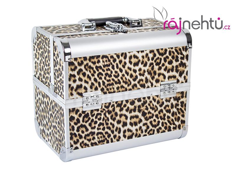 Ráj nehtů Kosmetický kufřík - leopard DELIGHT
