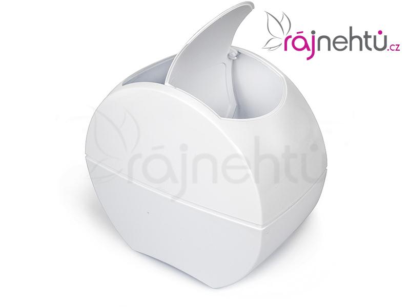 Ráj nehtů Kosmetický odpadkový koš - bílý