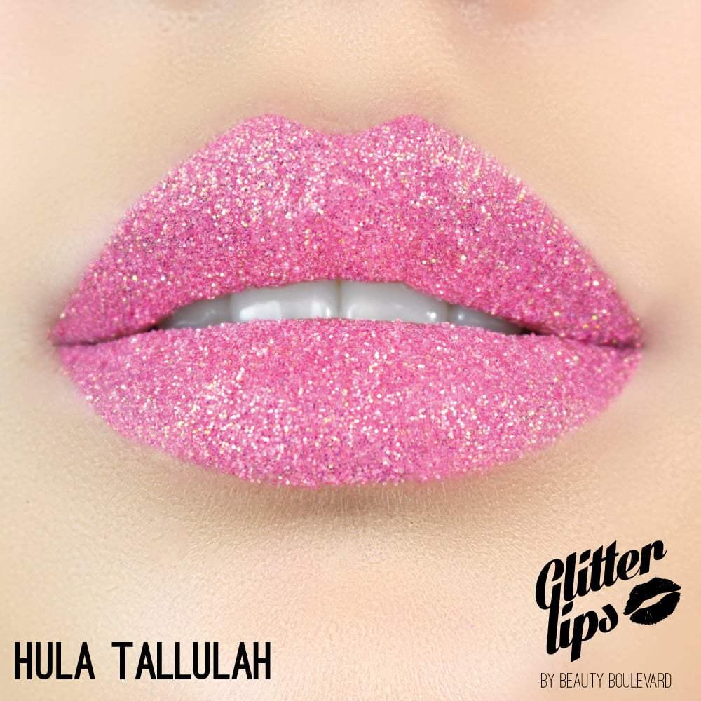 Beauty Boulevard Glitter Lips, voděodolné třpytky na rty - Hula Tallulah 3,5ml