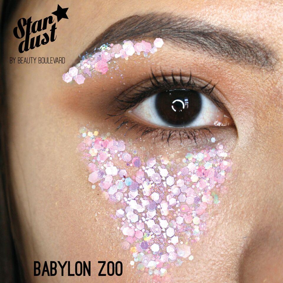 Beauty Boulevard Stardust - voděodolné třpytky na tělo a vlasy - Babylon Zoo