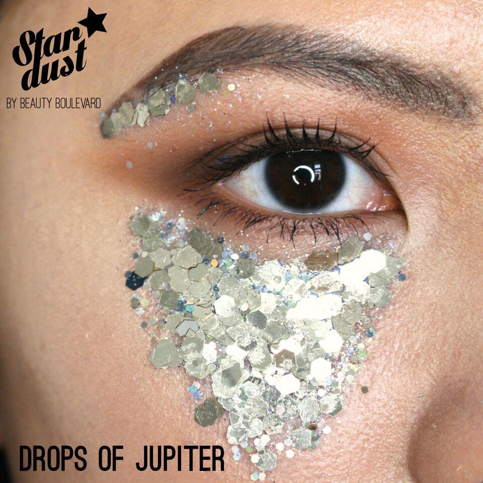 Beauty Boulevard Stardust - voděodolné třpytky na tělo a vlasy - Drops of Jupiter