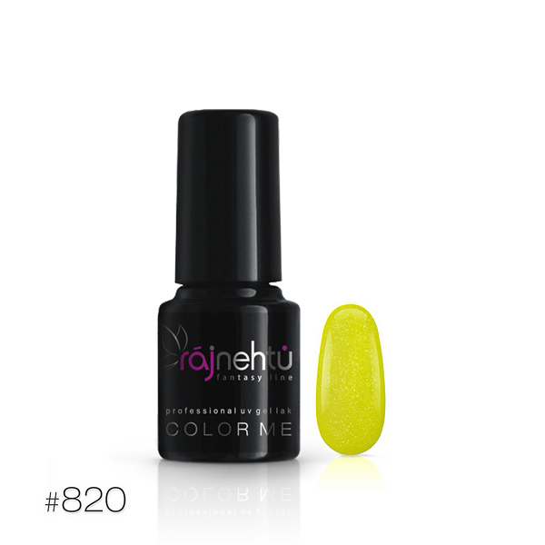 Ráj nehtů UV gel lak Color Me 6g - č.820