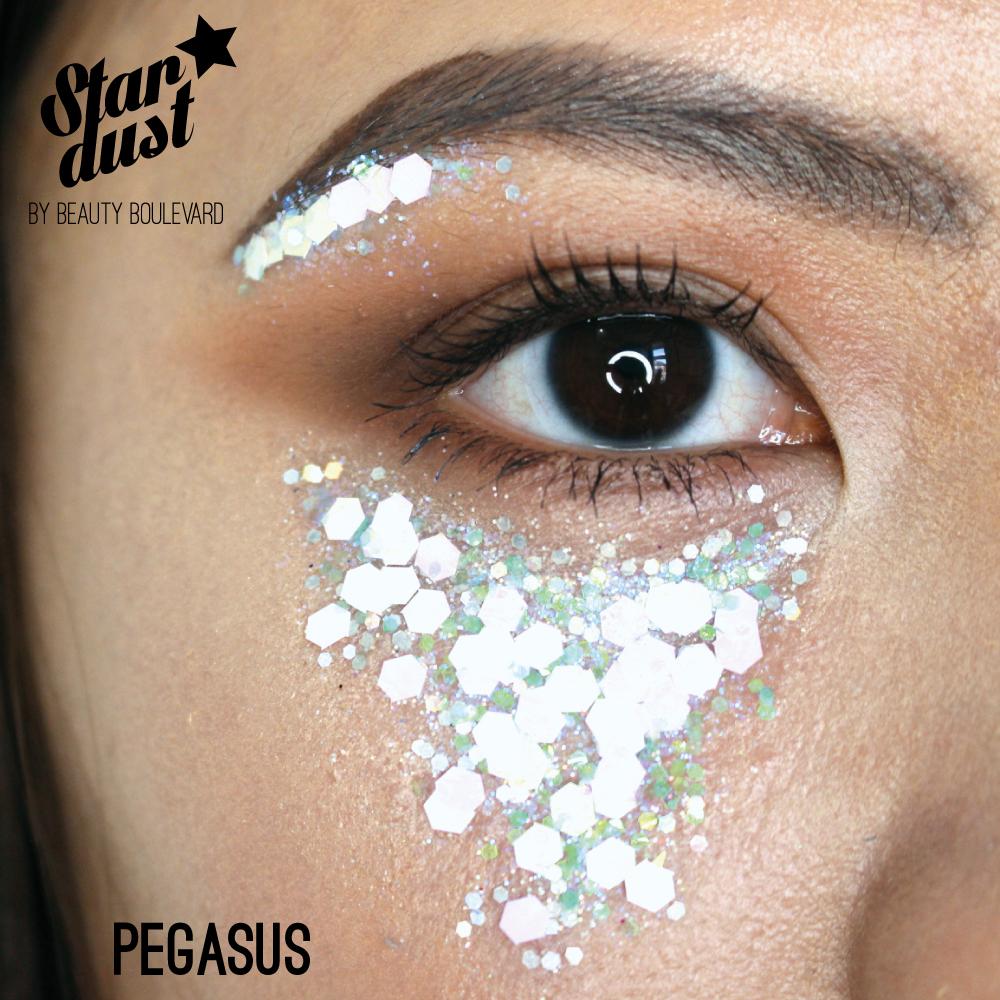 Beauty Boulevard Stardust - voděodolné třpytky na tělo a vlasy - Pegasus