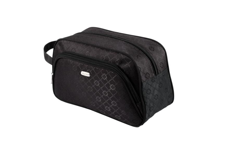 Top Choice TopChoice Kosmetická taška Geometric - ČERNÁ 93777