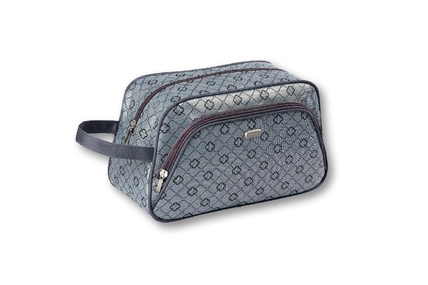 Top Choice TopChoice Kosmetická taška Geometric - ŠEDÁ 93777