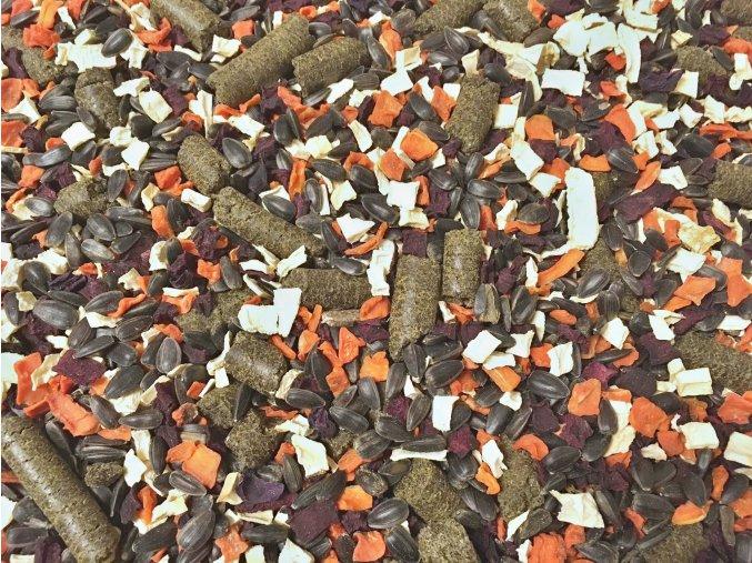 Zeleninov mix se seminky