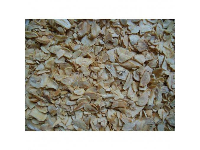 Česnek sušený plátky, 500 g