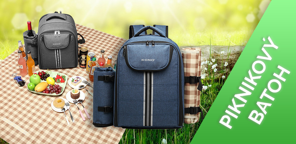 Skvělý batoh na piknik do přírody
